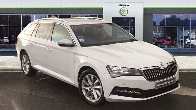 SKODA Superb 1.6 TDI CR SE Technology 5dr DSG Diesel Estate