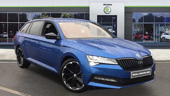 SKODA Superb 2.0 TDI CR Sport Line Plus 5dr DSG Diesel Estate